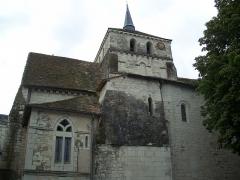 Eglise Notre-Dame - Français:   Église Notre-Dame de Coussay-les-Bois (Classé)