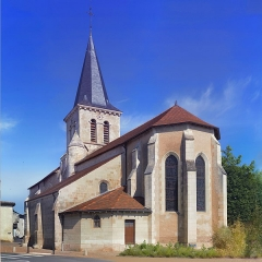 Eglise Saint-Denis - This building is indexed in the Base Mérimée, a database of architectural heritage maintained by the French Ministry of Culture,under the reference PA00105472 .