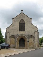 Eglise Saint-Jean-Baptiste -  L'église de Jazeneuil