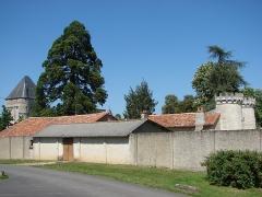 Château d'Auxances - English: Castle of Migné-Auxances