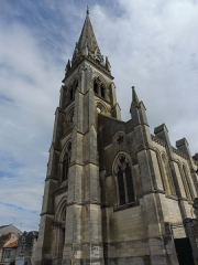 Eglise Saint-Martial - English: Saint-Martial of Montmorillon Church 2