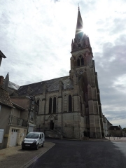Eglise Saint-Martial - English: Saint-Martial of Montmorillon Church 3