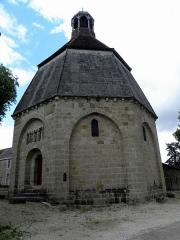 Ancien Hôtel-Dieu - Français:   Octogone de Montmorillon (86).