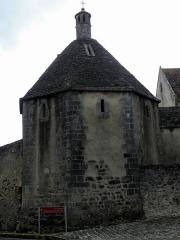 Ancien Hôtel-Dieu - Français:   Ancien Hôtel-Dieu de Montmorillon (86). Chauffoir.