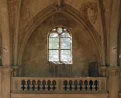 Collège de Poitiers  , actuellement lycée Henri IV - Français:   Fenêtre du mur sur de la chapelle Saint-Louis du collège Henri-IV de Poitiers
