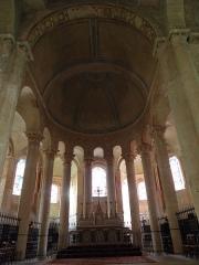 Eglise Saint-Hilaire - Chœur de l'église Saint-Hilaire-le-Grand à Poitiers (86).
