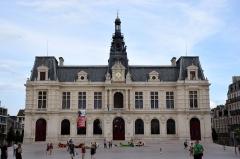 Hôtel de ville - Français:   Hôtel de ville de Poitiers.