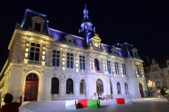 Hôtel de ville - This building is indexed in the Base Mérimée, a database of architectural heritage maintained by the French Ministry of Culture, under the reference PA00105619 .