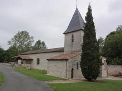 Eglise - English: Quinçay (Vienne) église