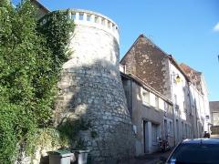 Remparts (restes des anciens) - Français:   Remparts de La Roche-Posay (Inscrit)
