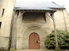 Eglise de Saint-Christophe - This building is inscrit au titre des monuments historiques de la France. It is indexed in the base Mérimée, a database of architectural heritage maintained by the French Ministry of Culture,under the reference PA00105684 .