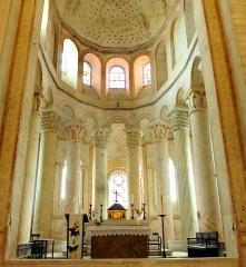Ancienne église abbatiale - Voir compartimentation sur schéma