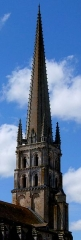 Ancienne église abbatiale - clocher de l'abbatiale