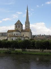 Ancienne église abbatiale - Français:   Abbaye de Saint-Savin-sur-Gartempe (86).