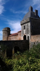 Château de Marconnay - This building is indexed in the Base Mérimée, a database of architectural heritage maintained by the French Ministry of Culture,under the reference PA00105717 .