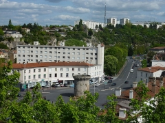 Enceinte - Porte de Paris de Poitiers