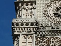 Eglise Sainte-Anne - Français:   Église Sainte-Anne -clocher- (1860) Saint-Benoît