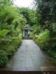 Villa Folio - Français:   La maison Folio à Hell-Bourg, Salazie, Réunion. Entrée de la propriété.