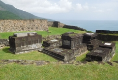 Fort Saint-Charles, Fort Richepance ou Fort Delgrès, puis laboratoire de vulcanologie - Français:   Le Fort Louis Delgrès