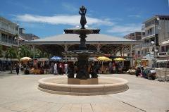 Marché central couvert - English: Market place in Pointe-à-Pitre, Guadeloupe.