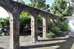 Asile Bethléem - Français:   Ancien asile Bethléem, détruit lors l\'éruption de la Montagne Pelée le 8 mai 1902