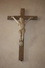 Eglise de Blanzey - Français:   Chapelle de Blanzey: crucifix