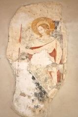 Eglise de Blanzey - Français:   Chapelle de Blanzey: ancienne peinture murale