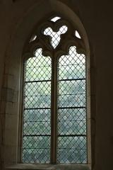 Eglise de Blanzey - Français:   Chapelle de Blanzey: vitrail