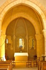 Eglise de Blanzey - Français:   Chapelle de Blanzey: intérieur