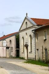 Eglise de Blanzey - Français:   Chapelle de Blanzey: facade