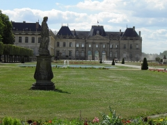Domaine du château - Château de Lunéville et jardins (Meurthe-et-Moselle, France).