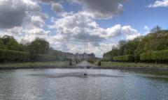 Domaine du château - Jardins à la française du château de Lunéville