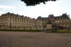 Domaine du château - English: Château de Lunéville August 2012