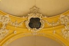 Eglise Saint-Jacques - Latina: Munificientia Stanislai I Regis Poloniæ Ducis Lotharingiæ et Barri.