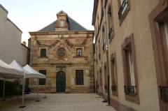 Synagogue - English: Synagogue of Lunéville, 7 rue Castera, Luneville, France