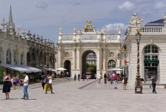 Ensemble formé par la place Stanislas, la rue Héré et la place de la Carrière - Deutsch: Frankreich, Nancy, Porte Héré