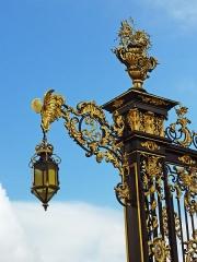 Ensemble formé par la place Stanislas, la rue Héré et la place de la Carrière -  Place Stanislas, Nancy.