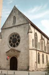 Ensemble immobilier de l'ancien couvent des Cordeliers -  Eglise des Cordeliers à Nancy