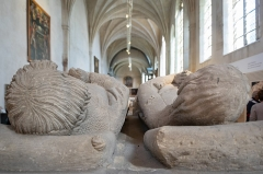 Ensemble immobilier de l'ancien couvent des Cordeliers - English: Interior of église des Cordeliers de Nancy