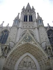 Basilique Saint-Epvre - Français:   Basilique Saint-Epvre de Nancy (Meurthe-et-Moselle, France); clocher