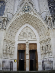 Basilique Saint-Epvre - Français:   Basilique Saint-Epvre de Nancy (Meurthe-et-Moselle, France); portail d\'entrée