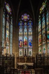 Basilique Saint-Epvre - English: Interior of Basilique Saint-Epvre de Nancy