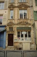 Hôtel de Ligniville - English: Hôtel de Ligniville de Nancy 23 Grande Rue, Nancy, France