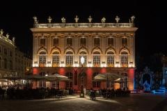 Immeuble, dit aussi hôtel Jacquet - English: Musée des Beaux-Arts de Nancy Night View