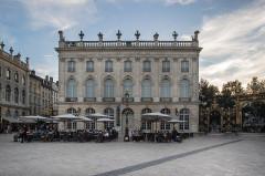 Immeuble, dit aussi hôtel Jacquet - English: Musée des beaux-arts front view