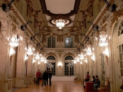 Opéra - théâtre - English: Hall of the National Opera of Lorraine in Nancy, France