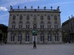 Opéra - théâtre - Français:   Opéra sur la place Stanislas à Nancy (Meurthe-et-Moselle, France).