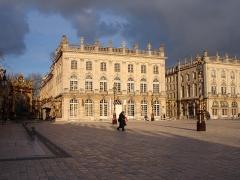 Opéra - théâtre - Français:   Place Stanislas à Nancy