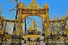 Place Stanislas -  Fontaine d'Amphitrite, Place Stanislas à Nancy (54).
