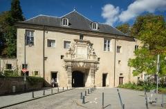 Porte de la Citadelle - Español: Vista frontal de la Porte de la Citadelle de Nancy